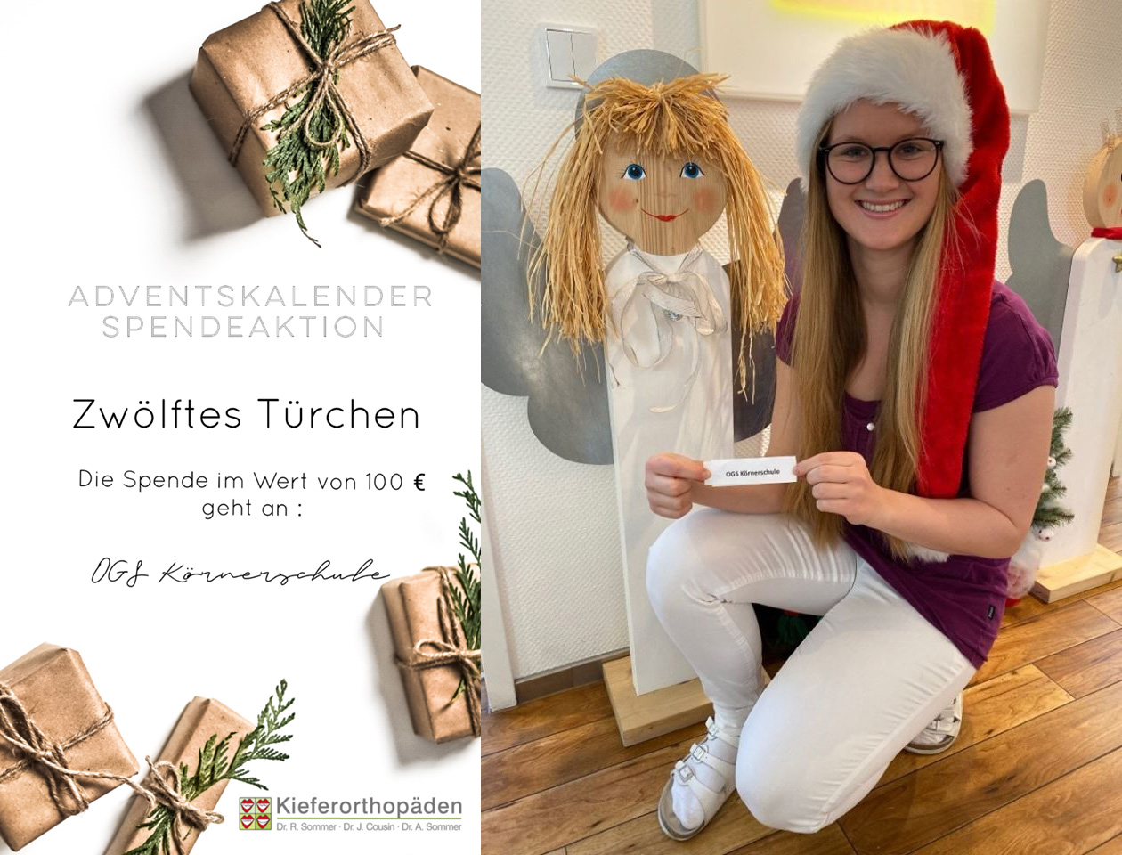Adventskalender Spendenaktion · 12. Türchen